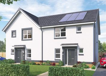 "Thumbnail 3 bed semi-detached house for sale in ""The Hamilton"" at Crosshill Road, Bishopton"