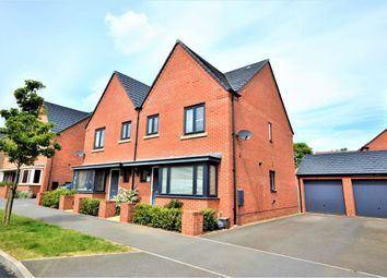 Thumbnail 3 bed semi-detached house for sale in Balmoral Close, Marina Park, Northampton