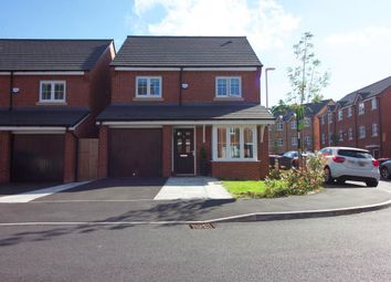 Thumbnail 4 bed detached house for sale in Racecourse Way, Salford