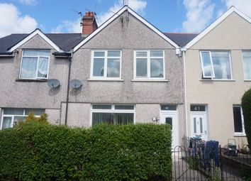 Thumbnail 3 bed terraced house for sale in Markham Crescent, Oakdale, Blackwood