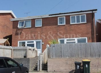 Thumbnail 3 bed semi-detached house to rent in Bryn Bevan, Newport, Newport.