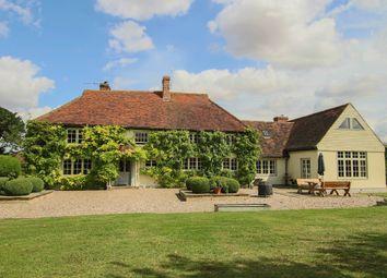 Thumbnail 5 bed farmhouse for sale in Tindon End, Wimbish, Saffron Walden