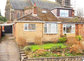Thumbnail 3 bedroom semi-detached bungalow for sale in Hill Top Walk, Harrogate