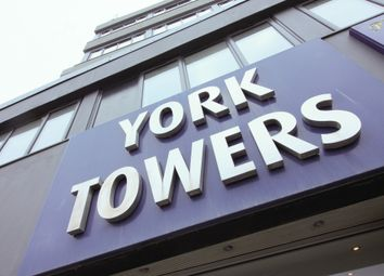 Thumbnail 3 bed flat to rent in York Towers, 383 York Road, Leeds