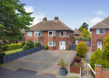 Thumbnail 3 bed semi-detached house for sale in Whinney Moor Lane, Retford, Nottinghamshire
