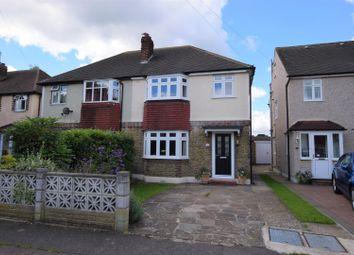 Thumbnail 3 bed semi-detached house for sale in Oakhurst Road, Epsom