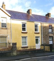 Thumbnail 3 bed terraced house for sale in Ashgrove Llangan Road, Whitland, Sir Gaerfyrddin