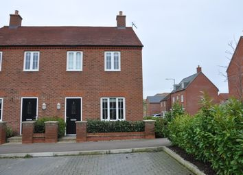 Thumbnail 3 bed end terrace house for sale in Honeycomb Way, Buckingham