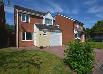 Thumbnail 4 bed detached house for sale in Country Meadows, Market Drayton