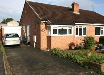 Thumbnail 2 bed semi-detached bungalow to rent in Elder Grove, Haxby, York