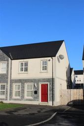 Thumbnail 3 bed semi-detached house for sale in Heslips Court, Dublin Road, Newry
