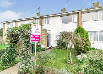 Thumbnail 3 bed terraced house for sale in Tennyson Close, Woodbridge