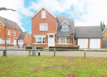 Thumbnail 4 bed detached house to rent in Whitebeam Close, Weston Turville, Aylesbury
