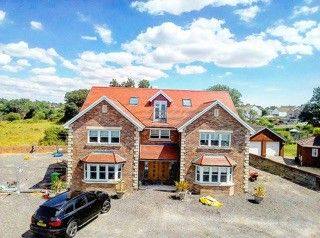 Thumbnail 5 bed detached house to rent in Seabreeze Penycae Lane, Loughor, Swansea