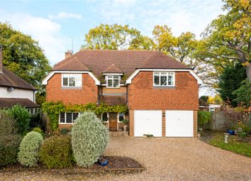 Thumbnail 5 bed detached house for sale in Wey Manor Road, New Haw, Surrey