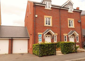 Thumbnail 4 bed link-detached house to rent in Hayburn Road, Swindon