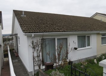 Thumbnail 2 bed semi-detached bungalow for sale in Sharrose Road, Plymouth