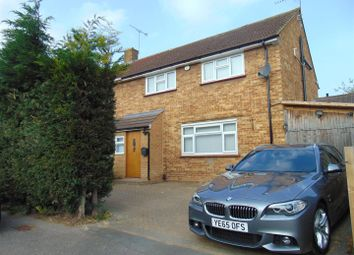 Thumbnail 4 bed semi-detached house to rent in Cress Road, Cippenham, Slough