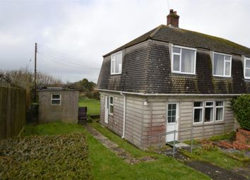 Thumbnail 3 bed semi-detached house for sale in Carworgie Way, St. Columb Road, St. Columb, Cornwall