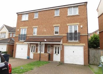Thumbnail 5 bed town house to rent in Redgrave Close, St James Village, Gateshead