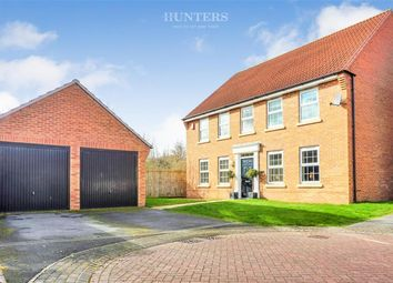Thumbnail 4 bed detached house for sale in Wellington Drive, Finningley, Doncaster