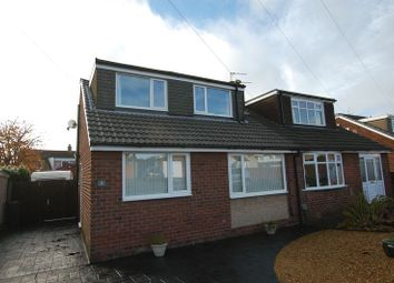 Thumbnail 4 bedroom semi-detached bungalow for sale in Heaton Avenue, Little Lever, Bolton