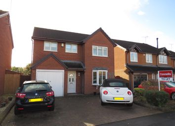 Thumbnail 4 bed property to rent in Canberra Drive, Stafford
