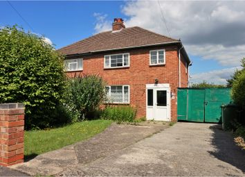 Thumbnail 3 bedroom semi-detached house for sale in Poplar Grove, Oxford