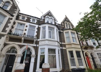 Thumbnail 6 bed terraced house for sale in Connaught Road, Roath, Cardiff