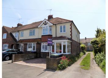 Thumbnail 3 bed end terrace house for sale in Second Avenue, Lancing