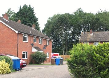 Thumbnail 3 bed terraced house to rent in Gardiner Close, Bury St. Edmunds