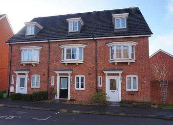 Thumbnail 3 bed town house for sale in Battalion Way, Thatcham