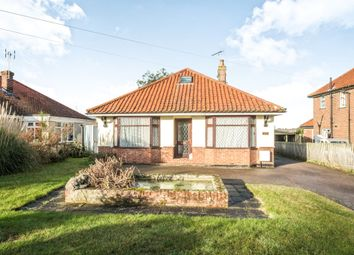 Thumbnail 4 bed detached bungalow for sale in Beccles Road, Bungay