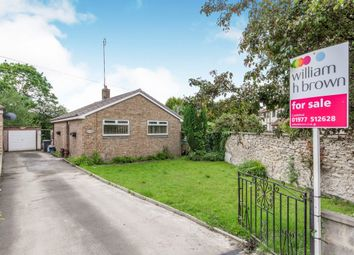 Thumbnail 2 bed detached bungalow for sale in Low Street, Brotherton, Knottingley