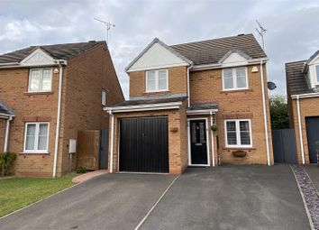 Thumbnail 3 bed detached house for sale in Hallgate Close, Oakwood, Derby