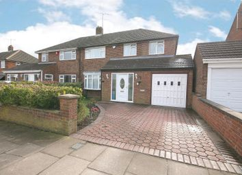 Thumbnail 3 bed semi-detached house for sale in Katherine Drive, Dunstable, Beds