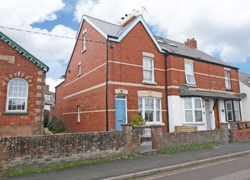 Thumbnail 3 bed end terrace house for sale in Chapel Road, Lympstone, Exmouth
