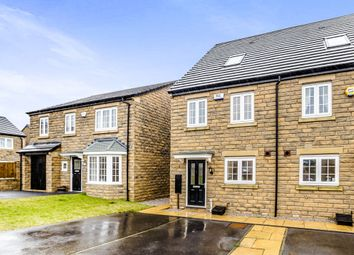 Thumbnail 3 bed semi-detached house for sale in Stirling Wood Close, Lindley, Huddersfield