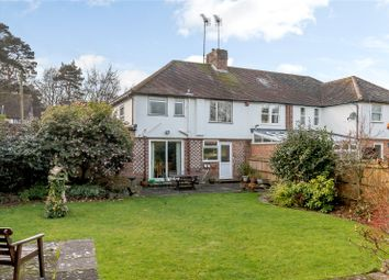 Thumbnail 3 bed semi-detached house for sale in Edward Road, Windlesham, Surrey