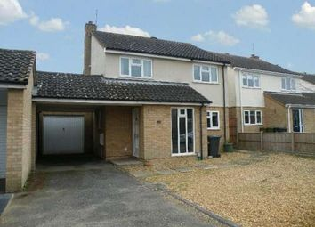 Thumbnail 4 bed link-detached house to rent in Fallowfield, Orton Wistow, Peterborough