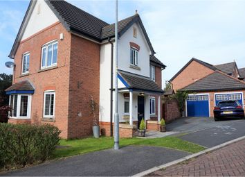 Thumbnail 4 bed detached house for sale in Waystead Close, Northwich