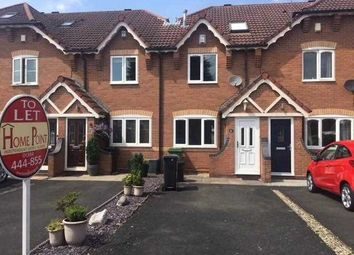 Thumbnail 2 bed terraced house to rent in Riversleigh Drive, Audnam, Stourbridge