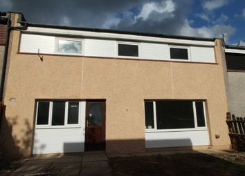 Thumbnail 4 bed terraced house to rent in Glenhove Road, Cumbernauld, North Lanarkshire