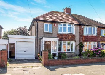Thumbnail 3 bed semi-detached house for sale in Beverley Road, Whitley Bay