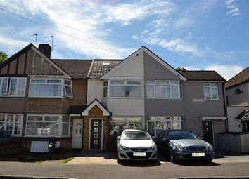 Thumbnail 3 bed terraced house for sale in Fernside Avenue, Feltham