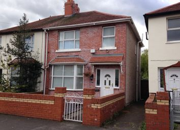 Thumbnail 3 bedroom semi-detached house to rent in Buckley Avenue, Rhyl