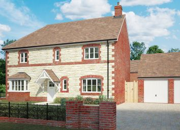 Thumbnail 5 bed detached house for sale in Plot 7, The Ashbury, Jack's Lea, Station Road, Uffington, Oxfordshire