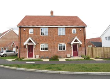 Thumbnail 3 bedroom property to rent in Kemp Road, North Walsham, North Walsham