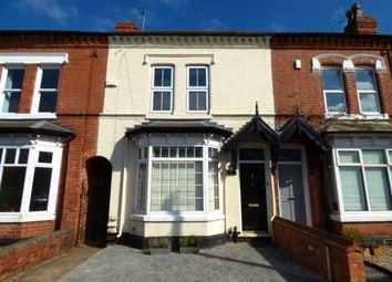 Thumbnail 4 bed terraced house for sale in Grosvenor Road, Harborne, Birmingham