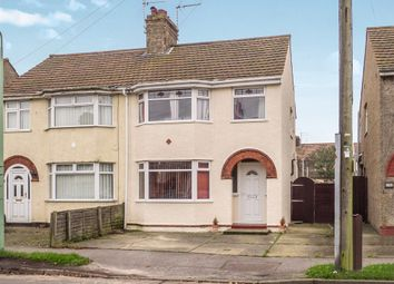Thumbnail 3 bedroom semi-detached house for sale in Waveney Crescent, Lowestoft
